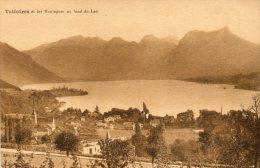 CPA - TALLOIRES (74) - Une Vue Sur Talloires Et Les Montagnes - Talloires