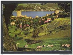 The Rumeli Hisari Castle And Bosphores ,Istanbul - Türkei