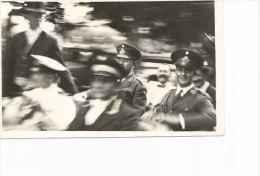 PRESIDENTE EVARISTO URIBURU EN ROSARIO  A�O 1930  MILITAR  ARGENTINA  FOTOGRAFIA ORIGINAL  OHL
