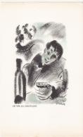 ILLUSTRATION POEMES DE BAUDELAIRE LE VIN DU SOLITAIRE - Illustrateurs & Photographes