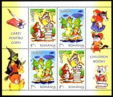 "ROMANIA/Rumänien, EUROPA 2010 ""Childrens Books"" Set Of 2 Minisheets** - Europa-CEPT"
