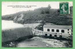 23 LAVAVEIX-les-MINES - Barrage Et Usine Hydro électrique De Chantegrelle - Sonstige Gemeinden