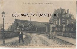 """08 // MEZIERES   Rue Des Usines  """"La Macerienne""""  / ANIMEE    ATTELAGE A CHIEN - Sonstige Gemeinden"""