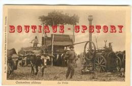 CHILE - LA TRILLA - Battage Des Céréales - Batteuse Locomobile - Chili - Dos Scanné - Chile