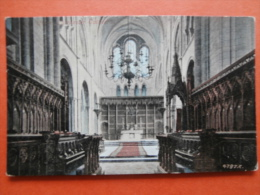 28722 PC: SUSSEX: CHICHESTER: Choir Chichester Cathedral. (Postmark 1905). - Chichester