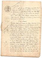 NEVILLE EN CAUX BAIL D'UNE FERME APPARTENANT A CH HELLOUIN  DOCUMENT DE 12 PAGES 1828 - Agriculture