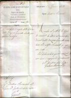 LETTERA PREFILATELICA DEL 1824 - Italia