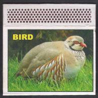 PAKISTAN MATCHBOX LABEL - CHAKOR Famous Birds Found In Afghanistan & Pakistan - Matchbox Labels