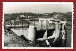 CASTELO DE BODE - BARRAGEM A MEIA COTA - 1950 REAL PHOTO PC - Santarem