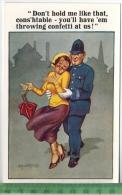 COMIQUE-Series, Nr. 6954   Verlag: Florence House, Barnes, London ,  POSTKARTE Erhaltung: I-II,  Karte Wird In Klarsicht - Humour