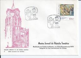 Portugal - Shows Youth Philatelic Stamp 22/12/1979. - Marcophilie