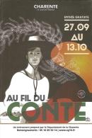 Au Fil Du Conte 2013 - Festival Organisé Par Le Service De La Lecture De La Charente - Ill. Patrice Cablat - Eventi