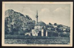 ALBANIA ALBANIEN MOSQUE PLUMIT SCUTARI OLD POSTCARD #110 STUDIO MARUBBI - Albanien