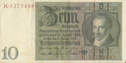Germany - Deutschland / 10 Reichsmark 1929 - Weimarer Republik - 10 Mark