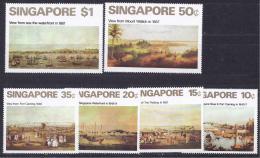 Singapore1971: Michel147-52mnh** ART - Singapur (1959-...)