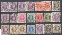 Rv998: Restje Van 21 Zegels...om Verder Uit Te Zoeken... - 1922-1927 Houyoux