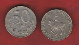 ALBANIA   50 Lek   1996  KM79 - Albanie