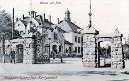 Feldpost 1915,  Truppenübungsplatz Königsbrück, Wache Und Post - Weltkrieg 1914-18