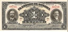 BILLETE DE MEXICO DE 1 PESO DEL AÑO 1913  (BANKNOTE) - México