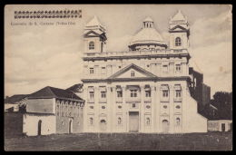 VELHA GOA Convento De S. Caetano. Carimbo Censura Belga. Ediçao Christovam Fernandes INDIA PORTUGUESA 1910s - India