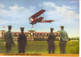 The Red Baron  -  Flugtag In Wiesbaden  -  Carte Postale - Piloten