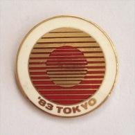Badge Pin ZN000121 - Table Tennis (Ping Pong) Japan Tokyo World Championships 1983 - Table Tennis