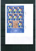 Slowenien / Slovenia 2003 Europa Cept  Kleinbogen / Sheet FDC - 2003