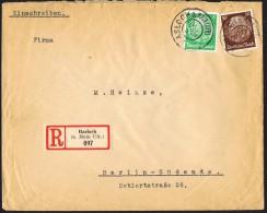 1933  Einschreiben Brief Hindenburg-Medaillon  MiNr 468, 473 - Briefe U. Dokumente