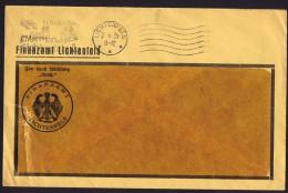 1935  Dienstbrief    Finanzamt  Lichtenfels      - «Frei Durch Ablösung Reich» - Briefe U. Dokumente