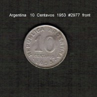 ARGENTINA    10  CENTAVOS  1953  (KM # 47) - Argentina