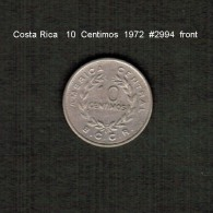 COSTA RICA    10  CENTIMOS  1972  (KM # 185.3) - Costa Rica