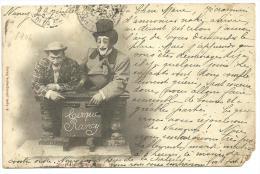 CPA 1904 Les Clowns Du Cirque Rancy , Morla Et Théodore - Zirkus