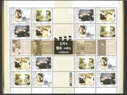 O) 2004 KOREA, FILMS-MOVIES, BLOCK MNH. - Korea (...-1945)