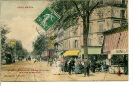 75017 TOUT PARIS - Avenue De Clichy à La Rue Balagny (Guy-Môcquet) - Tourniquet à Cartes Postales à Droite - Arrondissement: 17