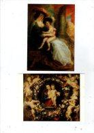 Cp  , Art , Peinture & Tableaux , PETER PAUL RUBENS , 2 Scans , LOT DE 2 CARTES POSTALES - Schilderijen