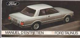 Manuel Entretien Ford Taunus - 1976 - Voitures