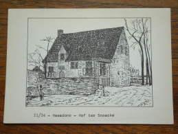 """Haasdonk """" Hof Ter Snoecke """" 11/34 / Anno 1976 ( Zie Foto Details ) !! - Beveren-Waas"""