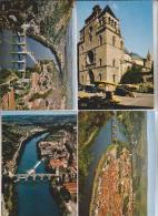 6 CPM DPT 46 CAHORS - Cartes Postales