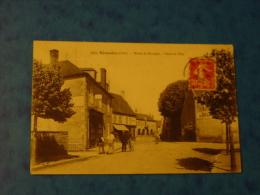 CHER-1561-NERONDES -ROUTE DE BOURGES HOTEL DE VILLE-ANIMEE - Nérondes
