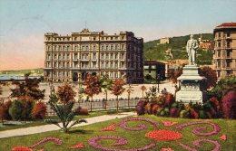 [DC7085] NAPOLI - IL GRAND HOTEL - Viaggiata 1924 - Old Postcard - Napoli (Napels)