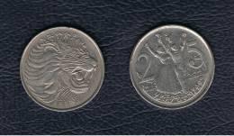 ETIOPIA / ETHIOPIA  -  25 Cent 1977   KM46 - Etiopía