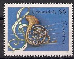 2013  Austria Mi.  3063 **MNH  Wiener Horn, Violinschlüssel - 1945-.... 2ª República