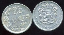 LUXEMBOURG  25 Centimes 1965 - Luxemburgo