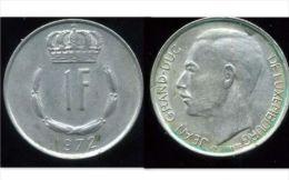 LUXEMBOURG  1 Franc  1972 - Luxemburgo
