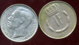LUXEMBOURG  1 Franc  1978 - Luxemburgo