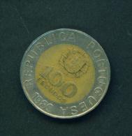 PORTUGAL - 1989  100e  Circulated - Portugal