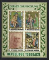 PINTURA/RELIGIÓN - TOGO 1972 - Yvert #H64 - MNH ** - Religione