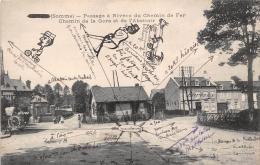 ¤¤  -  CONTY  -  Passage à Niveau Du Chemin De Fer -  Chemin De La Gare Et De L'Abattoir -  ¤¤ - Conty