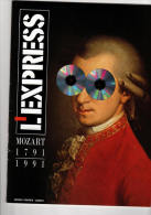 L'Express Sup 70 Pages : Mozart, 1791-1991 - Musique & Instruments