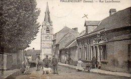 80HALLENCOURT ( Somme )  Rue Louis - Deneux . - France